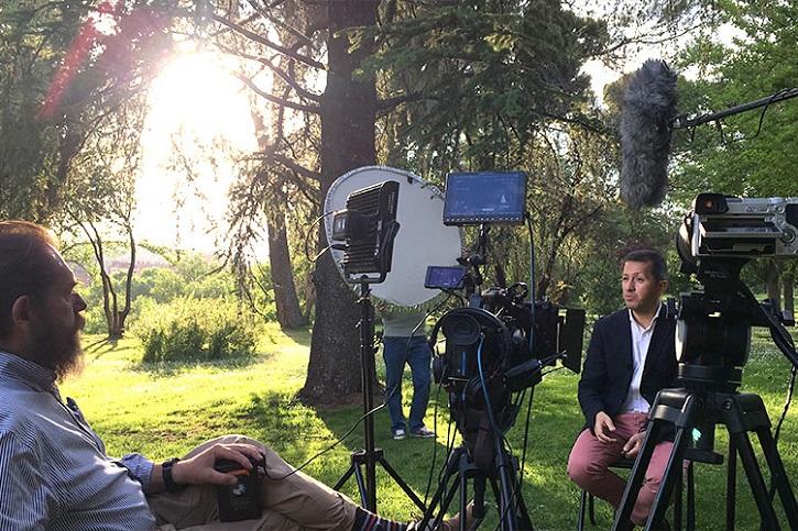 21 de mayo: Goya Producciones estrena 'Tierra Santa, el último peregrino'