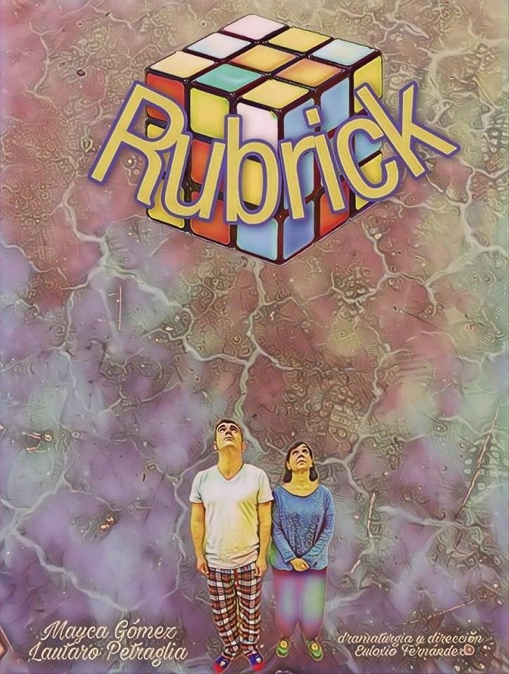 Cartel promocional de 'Rubrick'