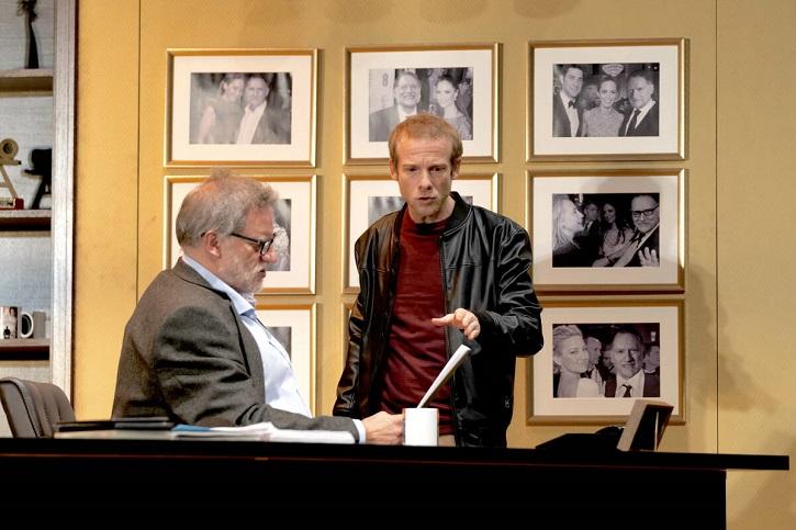 Nancho Novo y Fernando Ramallo   'Trigo Sucio': Elegante propuesta teatral que dio paso al #MeToo