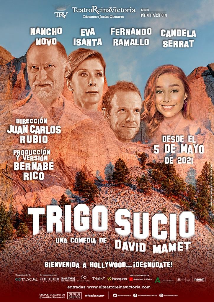 Cartel promocional de Trigo Sucio   'Trigo Sucio': Elegante propuesta teatral que dio paso al #MeToo