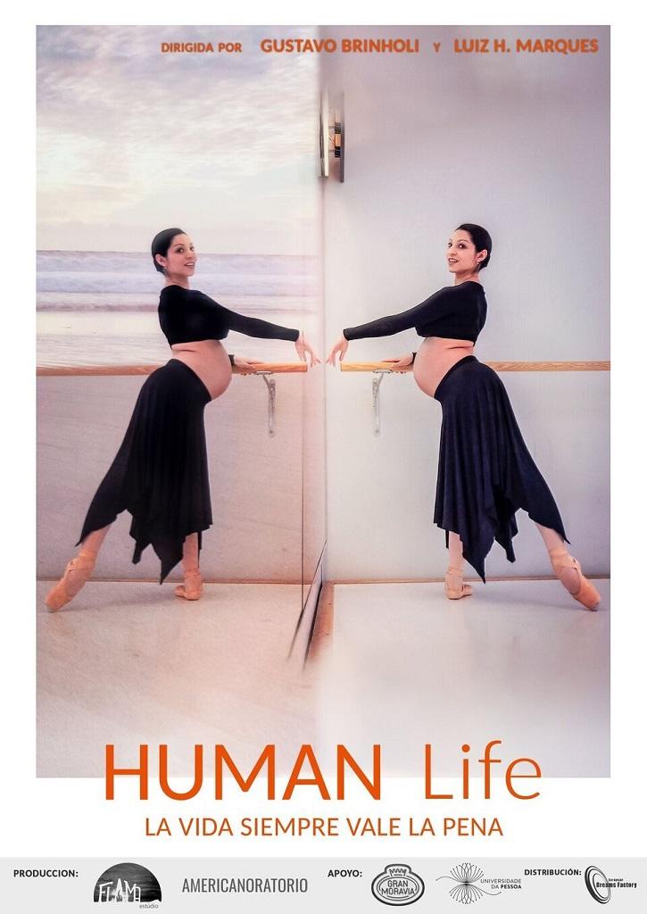 Cartel promocional de Human Life