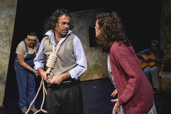 Fotograma de Don Quijote somos todos, a cargo del veterano Teatro del Temple