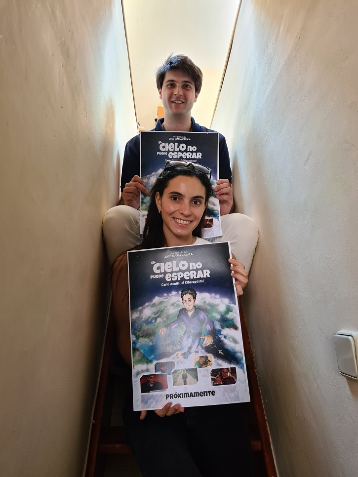 Entrevista a Borja e Inés Zavala, productores de El Cielo no puede esperar