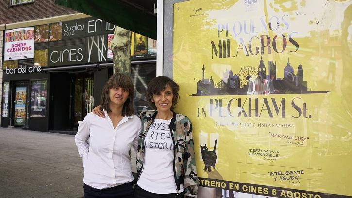 Mina Mileva y Vesela Kazakov, autoras de 'Pequeños milagros en Peckham Street': En busca de la felicidad