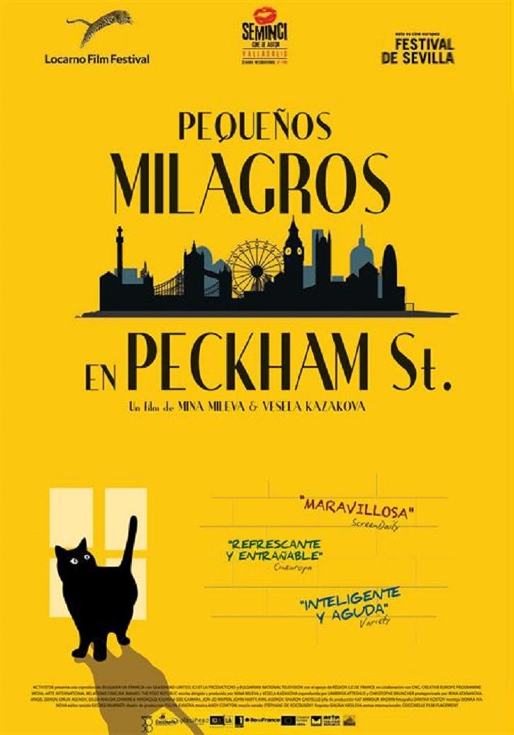 Cartel promocional del filme | Entrevista a Milevay Kazakova (Pequeños milagros en Peckham St)