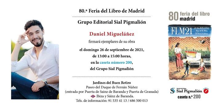 """Daniel Migueláñez: """"La vida es mucho más que los libros y los escenarios"""""""
