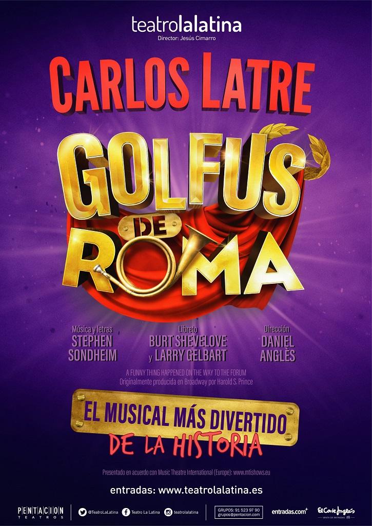 'Golfus de Roma': Carlos Latre revienta el Teatro de La Latina
