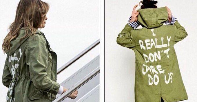 Melania Trump la lía parda con una chaqueta de Zara Léxico