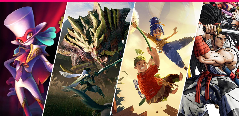 """""""Monster hunter: Rise"""", """"It takes two"""" y """"Balan wonderworld"""" son los lanzamientos destacados de la semana"""