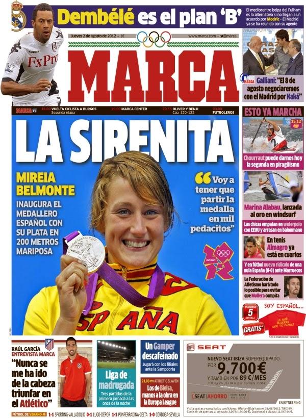 29 portadas de Mireia Belmonte, la reina de la natación española