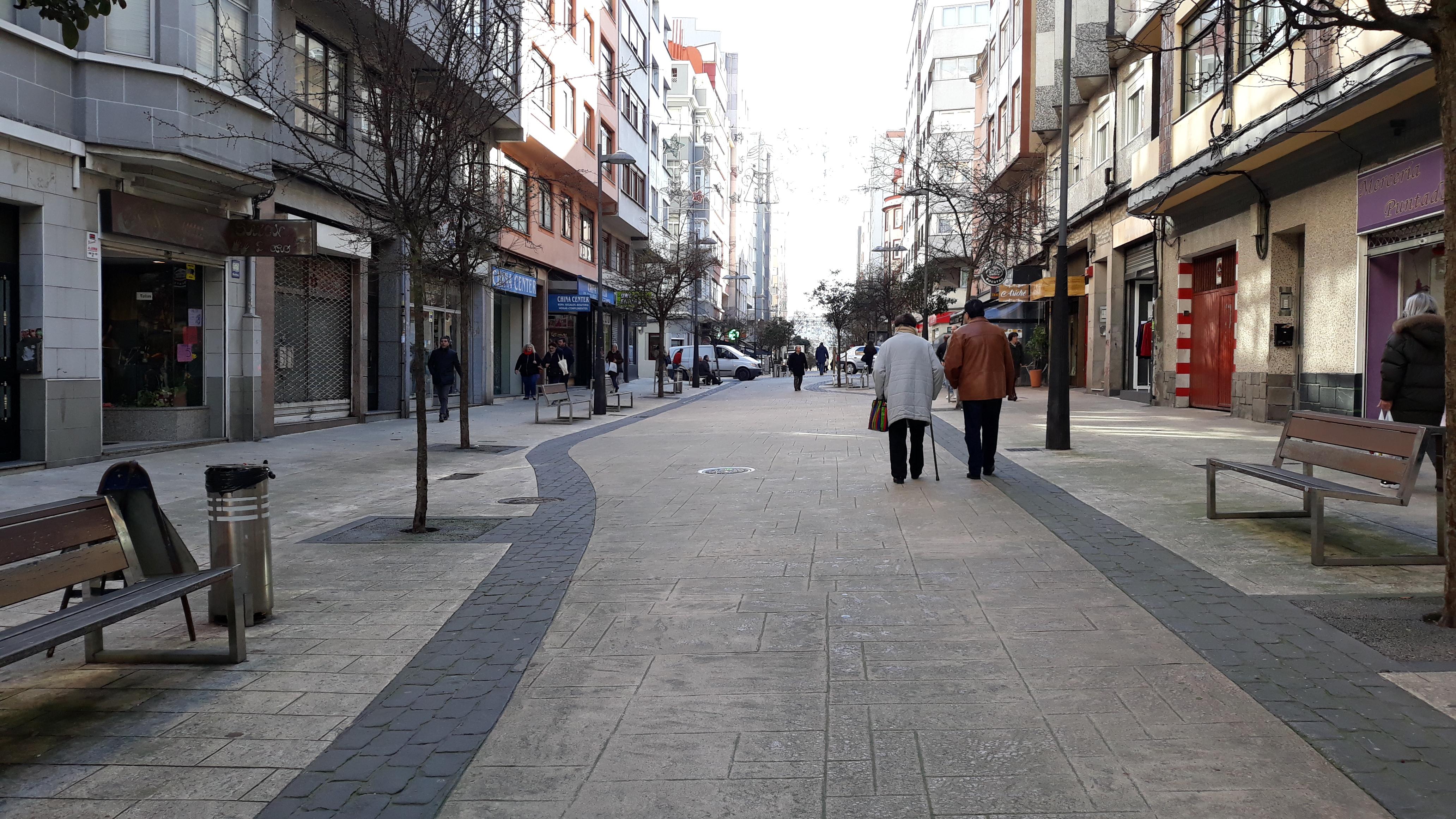 Ángel Senra: paseos y terrazas en Os Mallos