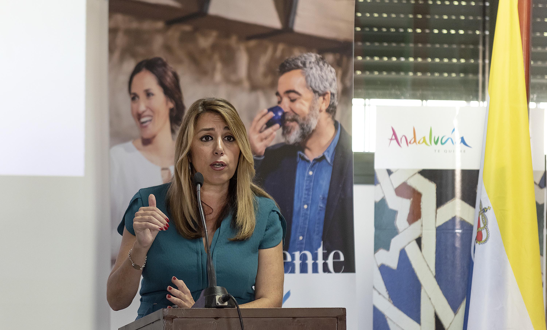 """Susana Díaz: """"El sabor intenso de Andalucía nos permite competir con cualquier mercado"""""""