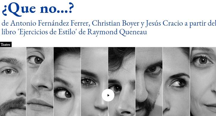 Jesús Cracio arrasa en el estreno de su rotunda '¿Que no...?', gracias a un imponente elenco, en Las Naves del Español