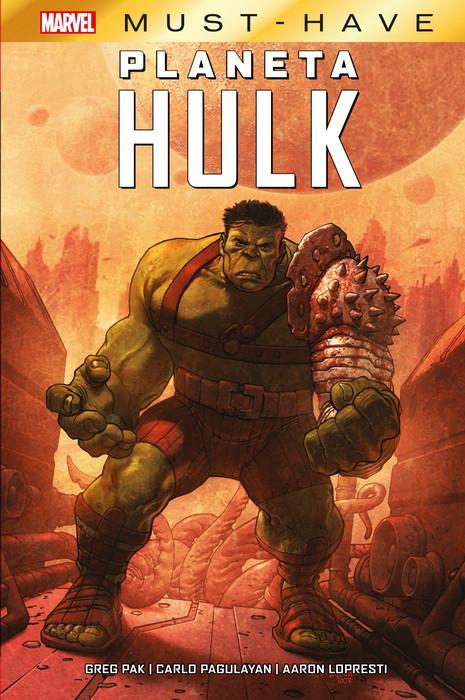 Planeta Hulk-La épica de un héroe mesiánico como un símbolo de esperanza