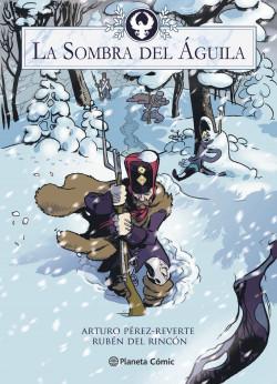 La sombra del águila-Pérez-Reverte en un divertido cómic histórico con aroma a Astérix